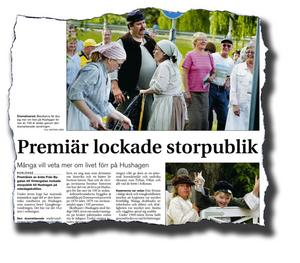 Publikmagnet upphör. Förra året lockade premiären av Ljungbergsvandringen storpublik. I år går såväl Borlängebor som turister miste om detta lokal- och järnbrukshistoriska skådespel då pengarna inte räcker till.