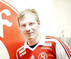 Jonathan Hellström var bäst i Sandvikens IF som