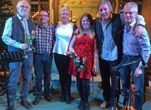 Östen Fladvad, Anders Olofsson, Erika Svedberg, Sofia Högare, Rune Westlund och Kent Persson stöttade stödföreningen Mö Finns med två fina kyrkkonserter.
