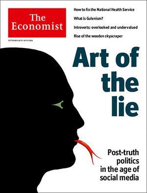 Senaste numret av Economist