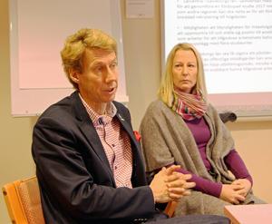 Ulf Halleryd från vuxenutbildningen i Gävle kommun och Ann-Sofie Gustafsson från Hälsinglands utbildningsförbund ska uppvakta regeringen om den låga utbildningsnivån i länet.