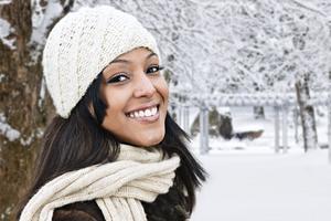 Nu kommer vintern enligt SMHI. Bilden är en genrebild.