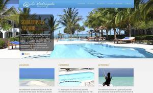 Hotellet där barn- och utbildningsnämndens arbetsutskott bor under vistelsen i Zanzibar.