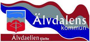 Kommunens nuvarande logotype som måste ändras eller bytas ut.