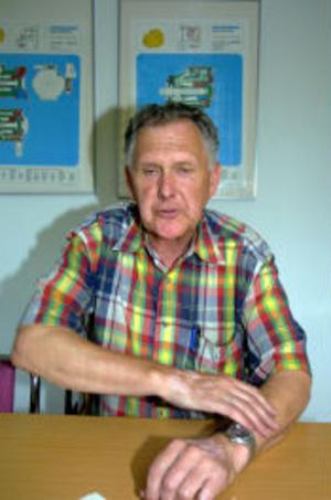 Chefen på GW Hydraulic AB, Bo Grelsson oroar sig för företagens framtid i Sverige.