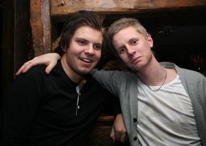 Konrad. Niklas och Robert
