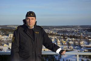 Dick Danielsson, poliskommissarie vid polisen i norra Ångermanland.