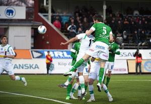 Peter Magnusson gjorde ett mål, men det räckte inte till poäng mot Ljungskile.