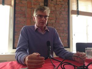 Per Åsling (C) har suttit i riksdagen sedan 2006. Han siktar på ännu en mandatperiod.