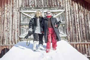 Marit Manfredsdotter och Åsa Evertsdotter har ett projekt ihop: Gubbkalendern 2017.