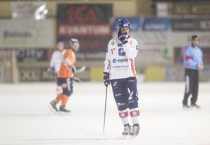 Mattias Hammarström – tvåmålsskytt i första kvartsfinalen.