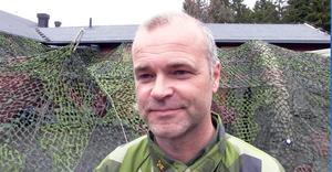 Bataljonchefen Per Simonsson ser ljust på framtiden för Hemvärnet.