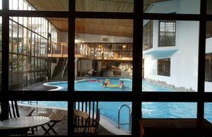 I maj hade Din tur konferens för 34 personer på Storhogna högfjällshotell och spa. De fick ett förmånligt pris på grund av att det inte var högsäsong, enligt Annica Kjellin.