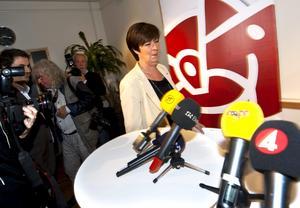 Ett uselt val. Mona Sahlin var inte nådig på valnatten mot det egna partiets valresulatet. Nu ska hon leda krishanteringen, från förnekelse till ett nytt liv.arkivbild: Fredrik Sandberg/SCANPIX