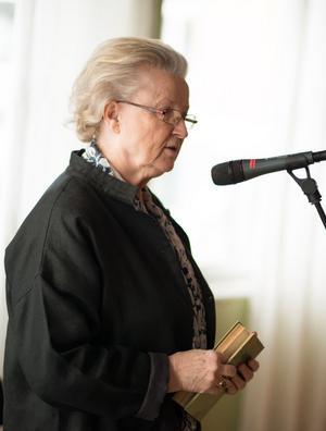 Kerstin Hultén gav fyra exempel på hur bibeln inspirerat svenska författare.