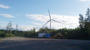 Region Gävleborgs vindkraftverk i Torsås är nu i gång och sparar regionen miljontals kronor.