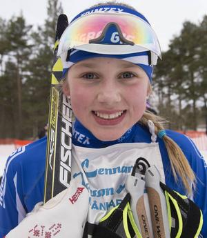 Saga Fältenhag från Högbo GIF vann klassen D 13-14.
