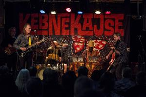 Kebnekajse spelade i Hudiksvall på fredagskvällen.