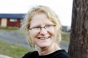 Ida Olofsson, som är lärare och studierektor för utbildningen, och är den som kom på idén med killingagility. Foto: Ulrika Andersson