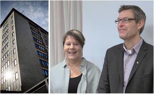 Linnéa Stenklyft och Erik Lövgren.