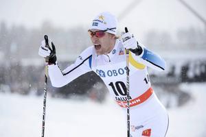 Anders Svanebo blev tvåa i sprinten i Intersport cup i Torsby.