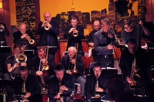 Stockholm Jazz Orchestra spelade på jazzklubben Metropol i Härnösand på onsdag kväll.