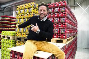 Den typiska Medelpadingen föredrar en traditionell julmustkaraktär, berättar Niclas Nilsson, vd på Vasa bryggeri.