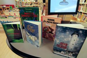Här är några av de böcker som toppar utlåningslistan 2009.