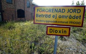 Dioxinsaneringen vid det gamla hyvleriet gjordes för drygt ett år sedan nu kan det vara dags igen fast på andra sidan vägen vid lokstallarna.