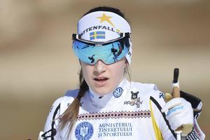 Ebba Andersson krossade motståndet och tog första guldet i JVM.