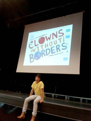 Clowner utan gränser besökte Bollnäs häromdagen.