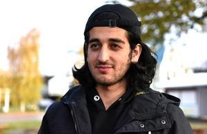 Ahmed Mohammed är yngst och studerar på vård- och omsorgsprogrammet precis som sin storebror och storasyster.