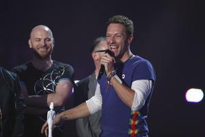 Chris Martins band Coldplay vann priset för årets brittiska grupp.