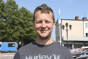 Daniel Vik, 42 år, dataingenjör, USA: – Att det drar folk till Norberg. Det främjar turismen.