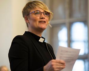 Charlotte Odelberg, kyrkoherde