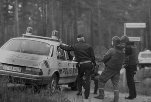 Gävlepolisen fick på nytt plocka fram sina kpistar och skottsäkra västar sedan skottlossning hörts i Engesberg på onsdagskvällen.