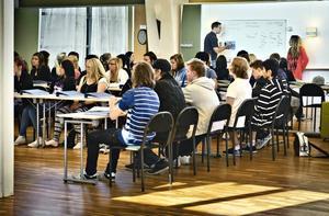 På måndagen var det skolstart för Gävles nyaste gymnasieskola, MoveIT.