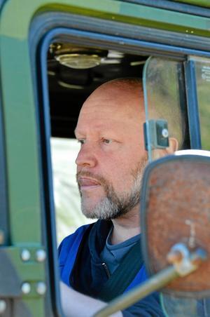 Morgan Bodin är ställföreträdande FRG-ansvarig i Bergslagen och en hejare på att köra bandvagn.