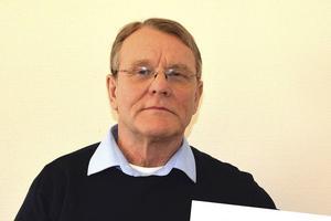 Matts Andersson har anmält kommunens slogan igen. Arkivbild.