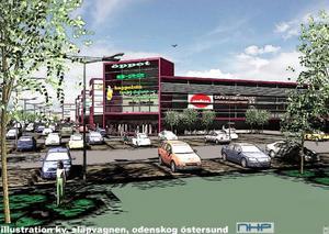 En ny detaljplan som tillåter handel på tidigare anrika industriområden kommer att ställas ut för synpunkter av berörda nu i sommar. Detta köpcentrum beräknas bli cirka 15 000 kvadratmeter.