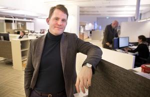Erik Jersenius, kulturredaktör VLT och juryordförande.