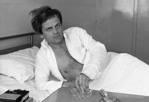 Klaus Kinski 1967.  Under 1960-talet lyckades hans profilera sig som filmskådespelare.