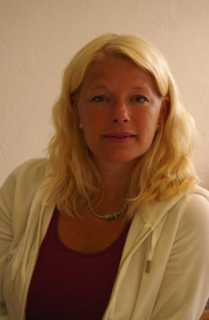Mässgeneral. Maria Spring har huvudansvaret för jakt och fiskemässan i Grönklitt och säger att intresset från utställarna är mycket större än vad hon själv trodde i inledningsskedet av planeringen. Foto:Börje Lindh