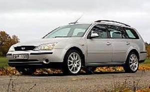 Foto: OLLE HILDINGSON Tuff nos. Nya Mondeos front påminner mycket om lillasyskonet Focus. I kombiutförande bjuder modellen på massor av plats både för passagerare och bagage. Bilen på bilden är extrautrustad med 18-tumshjul.