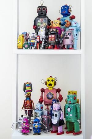 Robotsamlingen växer för varje år.