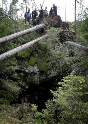 Malmjakt. Lars-Olof Larssons farfarsfar hade en hobby, en gruvdröm som slutade 20 meter ned i berget för 150 år sedan men släktens drömmar grusades först när gruvfruarna kom på besök.