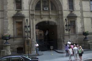Dakota Building, John Lennons och Yoko Onos hem invid Central Park.