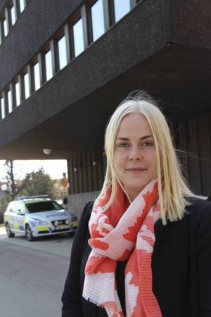 Lisa Andersas blir snart färdig utredningskriminolog, en treårig högskoleutbildning.