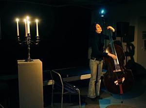 Nina de Heney framförde sju soloimprovisationer på IDKA