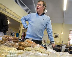 Krister Ederth säger att det blir en marknad i Näsviken även nästa år.